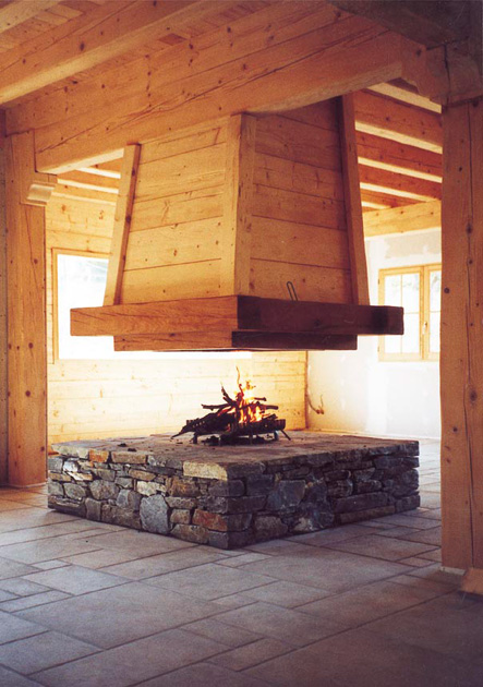 Totem Fire- design fireplaces and combustion chambers from France